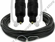 50ft long TOSlink Fiber Optic/Optical Digital Audio SPDIF,S/PDIF Cable/Cord/Wire