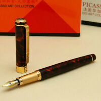 PICASSO 902 gentleman collection medium nib fountain pen Agate Red NEW
