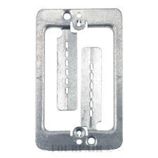 25 Pack Lot - Single Gang Low Voltage Wall Plate Steel Drywall Mounting Bracket