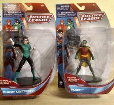 Bundle Justice League Green Lantern & Robin 4 Inch Figurine by DC Comics