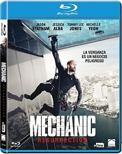 MECHANIC RESURRECTION BLU RAY NUEVO ( SIN ABRIR ) JASON STATHAM