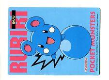 PROMO MARUMIYA STICKER JAPANESE CARD (60x80mm) N° AZURILL