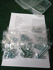 VW GOLF CORRADO VR6 2.8 2.9 ENGINE BAY BOLT KIT STAINLESS (obd1 obd2)