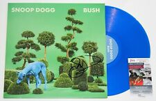 SNOOP DOGG SIGNED BUSH ALBUM LP COLOR VINYL RECORD HIP HOP LEGEND AUTO +JSA COA
