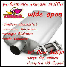 "2,25"" SPORT AUSPUFFTOPF  "" wide open ""  (super dumpfer V8 Sound)"
