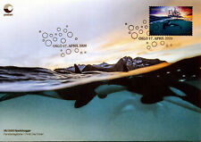 2020 Norway, marine mammals, whales, orca, Fdc