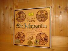 Haydn The Seasons BOHM PETER SCHREIER TALVELA JANOWITZ DGG 3 LP BOX 2709026 MINT