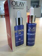 NEW OLAY REGENERIST RETINOL 24 NIGHT SERUM 1.3 FL OZ SIZE ANTI-AGING VITAMIN B3