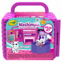Crayola Washimals Beauty Salon Playset - Colour and wash adorable little pets