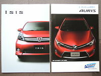 JDM TOYOTA ISIS / AURIS Original Sales Brochure Catalog