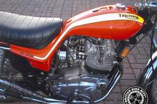 Calcomanía de tanque/Insignia Set-Triumph X75 huracán