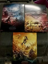 STAR WARS THE RISE OF SKYWALKER AMC IMAX Complete Dan Mumford poster 1-3 New One