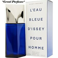 ISSEY BLUE by Issey Miyake 4.2oz Eau De Toilette Spray Perfume for Men NEW box