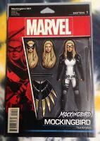 MOCKINGBIRD 1 (Shield) action figure variant - Marvel Comics - N/M