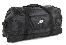 JB Ultralight XL120L Expanding Foldaway Rolling Duffle Holdall on Wheels Black