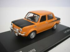 SIMCA LACS 2 1976 ORANGE / MAT NOIR 1/43 WHITEBOX WB168 NEUF