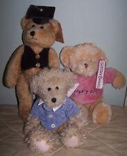 4 SETTLER BEARS AS DESCRIBED FOR 1 PRICE