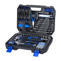 PROSTORMER 148 Piece Household Repair Tool Kit Set with Tool Box Storage Case