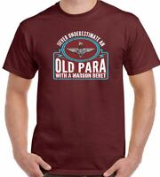 PARA T-Shirt The Parachute Regiment Cap Badge Mens 1 2 3 4 10 SFSG 7RHA 7 RHA