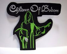 children of bodom shaped  EMBROIDERED PATCH