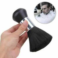 Portable Salon Hairdressing Soft Hair Cutting Barber Neck Brush Duster Black