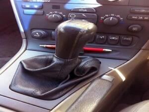 cuffia cambio Volvo V 70 pelle nera