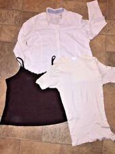 LIZ CLAIBORNE WOMAN Merona Moments LOT Of 3 Top Shirt Blouse Women Sz 20 W 2X 💖