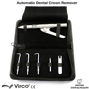 Automatic Crown Remover Gun Tool Kit Dental Crowns Removal Lab Ortho Tools CE