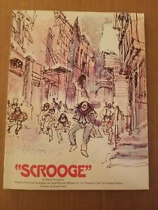 Scrooge By Elaine Donaldson Screenplay Paperback Book 1970