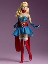 """Supergirl DC Bombshells 16"""" Tonner Doll DC Comics Sold Out"""