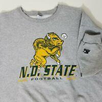 Vtg Starter North Dakota State University Sweatshirt Sweater Size  X-Large NDSU
