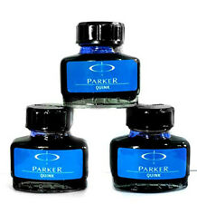 Parker Quink Ink Bottle in Blue Color For Fountain Pen 30 ml