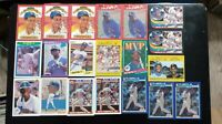 20 Card Ken Griffey Jr Lot Topps Fleer Score Donruss Upper Deck rookies