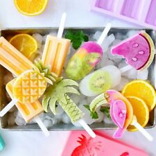 Silicone Frozen Ice Cream Mold Pineapple Watermelon Juice Popsicle Maker Lolly