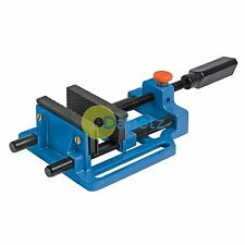 Quick Release Drill Vice 100mm For Drill Stand Or Work Bench Strong Aluminium