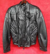 Genuine Harley Davidson Ladies leather motorcycle jacket COMPETITION II 2 Medium
