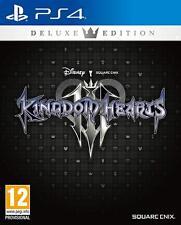 Kingdom Hearts III 3 Deluxe Edition (PS4) (NEU & OVP) (UNCUT) (Vorbestellung)