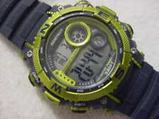 Large unusual DIVE DIVER DIVING ARMITRON PRO SPORT ALARM CHRONOGRAPH mens watch