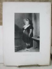 Vintage Print,NAUGHTY BOY,Gallery,British Art,D.Appleton