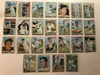 1970 Topps CHICAGO WHITE SOX Complete Team APARICIO Wilber WOOD Melton High#s