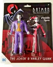 Batman The Animated Series Joker And Harley Quinn Figures NJCroce DC
