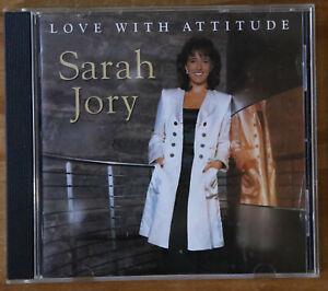 Sarah Jory - Love with Attitude - CD (1995) Ritz Records