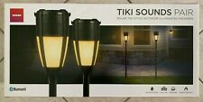 Ion Tiki Sounds Solar Outdoor Illuminated Speakers, 2 pk. - Ships Free!