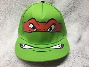 RAPHAEL BASEBALL HAT cap TMNT teenage mutant ninja turtles PIZZA BILL snap back
