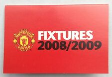 Manchester United Football Fixture Cards & Lists
