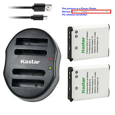 Kastar Battery Dual Charger for Nikon EN-EL19 Nikon Coolpix S2500 Coolpix S2550