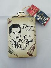 New listing Dr. Orders Novelty Flask (4 oz./Stainless Steel) mens gift
