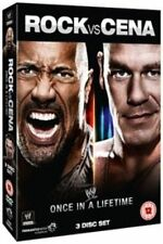WWE New - Rock Vs Cena - Once In a Lifetime [DVD] - Official Store
