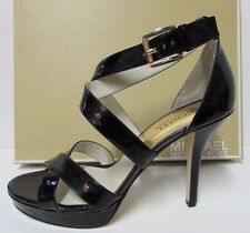 Michael Kors Size 10 Black Leather New Womens Shoes
