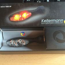 Kellermann micro 1000 DF schwarz Blinker und Rücklicht 1 Stück